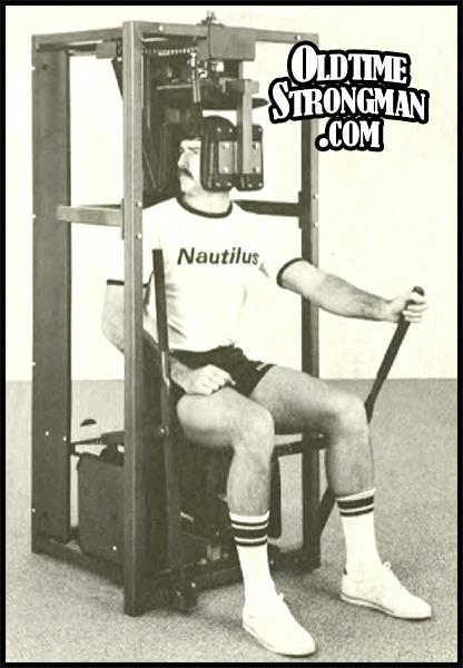 The Nautilus Rotary Neck Machine Www Oldtimestrongman Com